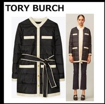【TORY BURCH】LONG QUILTED JACKET ロング丈 キルトジャケット