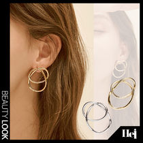 【Hei】drawing line earring 2色★ピアス