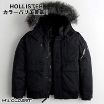 Hollister (ホリスター)Down Bomber Jacket