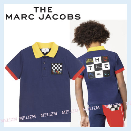The Marc Jacobs★大人もOK!Navy コットン ポロシャツ 14y★