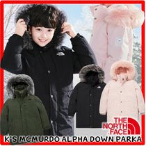 新作☆The North Face☆K'S MCMURDO ALPHA DOWN PARK.A☆ダウン