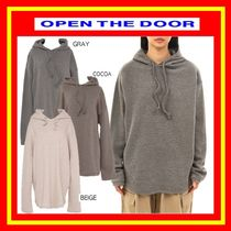 [OPEN THE DOOR]  basic wool knit hood (3 color)◆ 追跡付