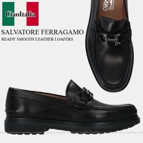 SALVATORE FERRAGAMO READY SMOOTH LEATHER LOAFERS