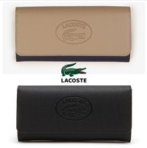 ■SALE■【LACOSTE ラコステ】ヴィンテージロゴ プチピケ長財布
