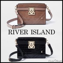 *River Island* Rue SaintDominique クロコBAG /2色【送料込】