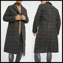 Another Influence wool blend longline over coat