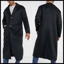 Another Influence wool blend over coat longline