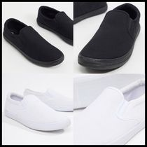 ASOS DESIGN slip on plimsolls