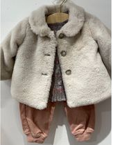AW20 BONPOINT☆コートDOUCEUR2ミルクWHT 3A