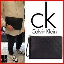★CALVIN KLEIN★エンボスクラッチバッグ☆正規品☆