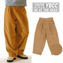 YOUTHBATH★韓国 日本未入荷★Wide tapered-fit corduroy pants