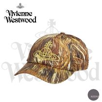 ■VivienneWestwood■Hair-print cotton-blend baseball cap■黄