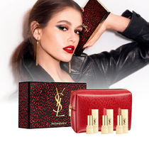 YSL☆ホリデー限定☆ポーチ付 Mini Rouge Pur Couture 3本セット
