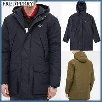 FRED PERRY/ *AUTHENTIC パッド入り ジップパーカ 3色*関送料込