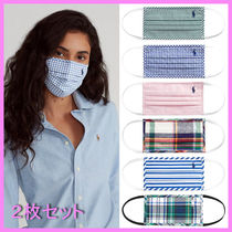 【Ralph Lauren】Polo Cloth Mask〜ラルフローレンマスク 2枚set