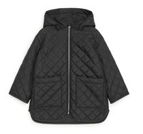"""ARKET(アーケット) キッズアウター """"ARKET KIDS"""" Quilted Jacket Black"""