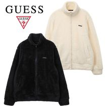 ★GUESS★STAND NECK ボア フリース パーカー 2色