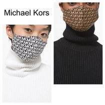 Michael Kors*Logo Stretch Cotton Face Mask*フェイスマスク