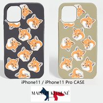 Maison Kitsune★All Over Fox Head iPhone 11 Case★2色★送込