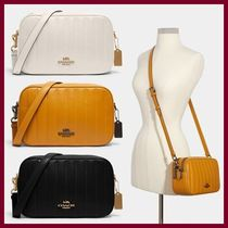 【COACH】Wジップ Jes Crossbody With Linear Quilting☆