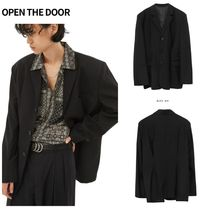 無料EMS配送★OPEN THE DOOR★over-fit dart jacket