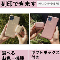 【MAISON de SABRE】スマホ AirPods AirPods Pro ケース 刻印2点