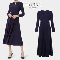 ◆Hobbs London◆Suri Jersey Fit And Flare Dress