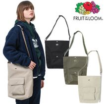 【FRUIT OF THE LOOM】BIG POCKET CROSSBAG ショルダーバッグ