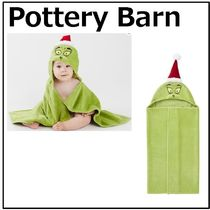【Pottery Barn】Dr. Seuss's The Grinch☆フード付きタオル★