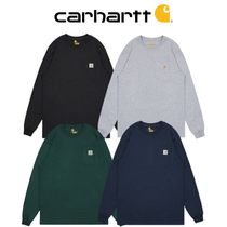 【CARHARTT】LONG SLEEVE POCKET T-SHIRT ポケット Tシャツ