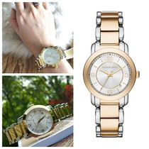 【レア★人気】Janey Three-Hand Two-Tone Stainless Watch
