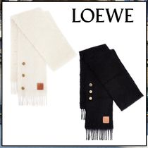 LOEWE ☆Buttons scarf in mohair and wool☆マフラー☆送料込