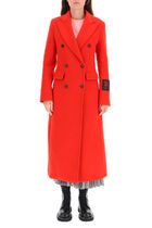 MSGM●MAXI DOUBLE-BREASTED COAT