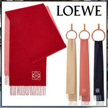 LOEWE☆Bicolour scarf in wool and cashmere☆マフラー☆送込