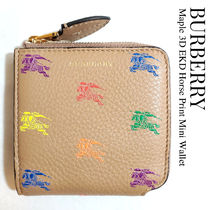 BURBERRY★Maple 3D EKD Mini Wallet 騎士 カラフル ミニ財布