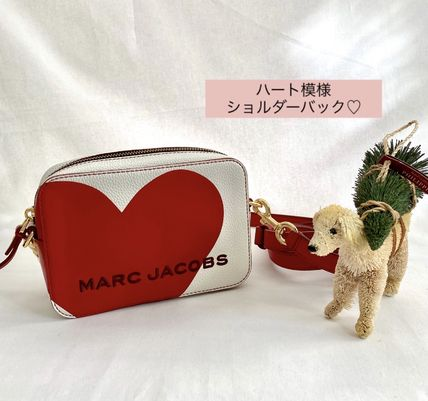 即配送【Marc Jacobs】The Box Heart Crossbody Bag ショルダー