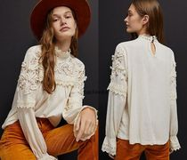 関税込み☆Anthropologieオリジナル☆Jemma Lace Top