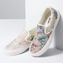 【新作】VANS(バンズ)★VANS 花柄 TAPESTRY CLASSIC SLIP-ON