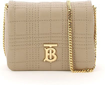 Burberry ▽LOLA MICRO BAG WITH CHAIN AND TB