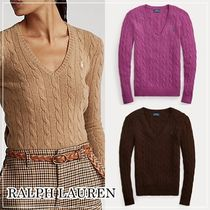 【Ralph Lauren】Cable Wool Cashmere Sweater★Polo セーター★