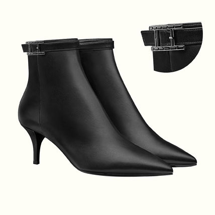 Hermes ☆ Blanche《ブランシュ》ゴートスキン ankle boot