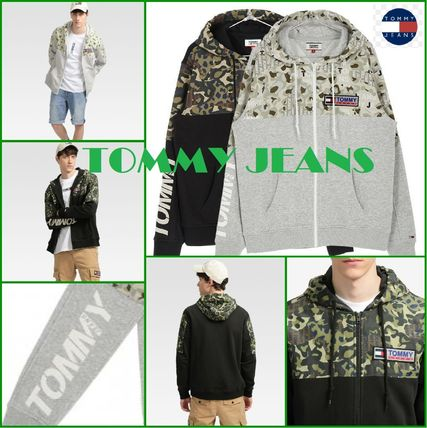 【TOMMY JEANS】トミージーンズ パーカー  2color フーディー