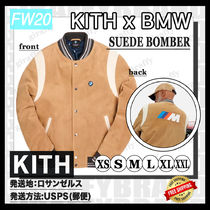 [20FW/AW] KITH FOR BMW SUEDE BOMBER [追跡付き]