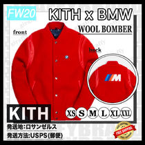 [20FW/AW] KITH FOR BMW WOOL BOMBER [追跡付き]