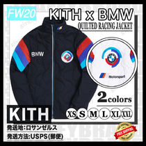 [20FW/AW] KITH FOR BMW QUILTED RACING JACKET[追跡付き]
