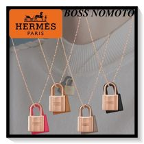 HERMES♪O'Kelly Pendant Necklace PM Pink Gold☆プレゼントに