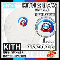 [20FW/AW] KITH FOR BMW VINTAGE ROUNDEL SWEATER [追跡付き]