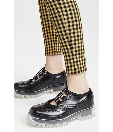 The Marc Jacobs The Ghille Lace Up Flats