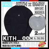 [20FW/AW] KITH FOR BMW KNIT MOCKNECK SWEATER [追跡付き]