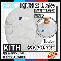 [20FW/AW] KITH FOR BMW MOTORSPORT SWEATER [追跡付き]